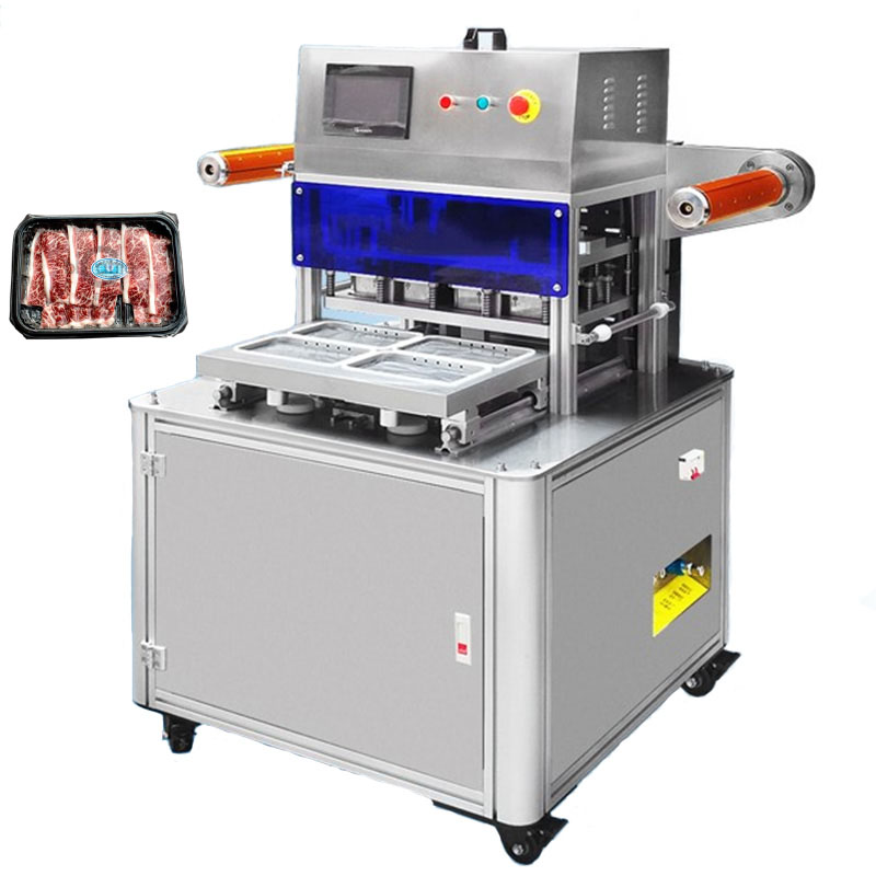 vacuum and gas fill sealing machine