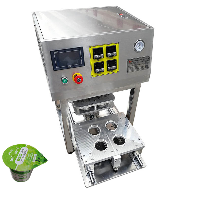 paper cup sealing lid machine